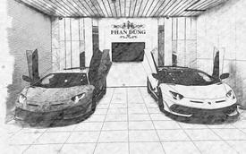 Lamborghini Aventador SVJ Roadster đầu tiên về Việt Nam chính thức lộ diện tại garage của đại gia Hà Thành