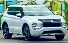 Mitsubishi Outlander 2021 lộ ảnh mới: Đẹp lên vài phần, đe doạ Honda CR-V