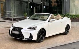 Xe mui trần 'sang chảnh' Lexus IS250C được rao bán với giá hơn 1,1 tỷ đồng sau 10 năm sử dụng