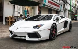 Vừa đón Tết Hà Nội xong, Lamborghini Aventador pô to nhất Việt Nam bất ngờ xuất hiện trên phố Sài Gòn