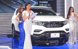 SUV 7 chỗ Ssangyong Rexton âm thầm lên đời đối đầu Toyota Fortuner