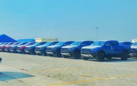 Lô hàng Ford Ranger Raptor 2020 đầu tiên về Việt Nam: Thêm phanh tự động, hỗ trợ giữ làn đường