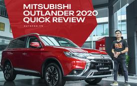 Đánh giá nhanh Mitsubishi Outlander: 15 điểm mới, giá gần như không đổi và cơ hội bám đuổi Honda CR-V, Mazda CX-5