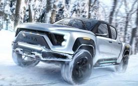Siêu xe của làng bán tải Nikola Badger: Tăng tốc lên 100km/h trong 2,9 giây, mô-men xoắn tận 1.329Nm