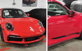 Porsche 911 Turbo S 2021 lộ hàng ngay trước ngày ra mắt