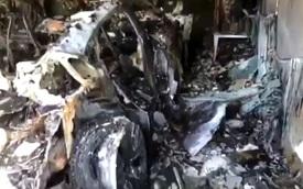 Xe sắp về Việt Nam Porsche Taycan tự phát hỏa không rõ nguyên nhân