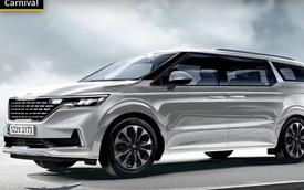 Kia Sedona thế hệ hoàn toàn mới đẹp như Range Rover sẽ ra mắt sớm hơn dự kiến