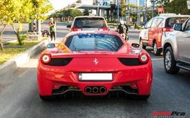Đại gia ngành thực phẩm Sài Gòn đích thân cầm lái Ferrari 458 Italia hàng hiếm