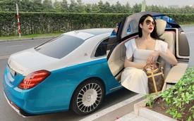 Diệp Lâm Anh bán Mercedes-Maybach S 450 độ phong cách siêu dị giá 6,8 tỷ đồng kèm lời hứa hẹn tặng quà hấp dẫn cho người mua