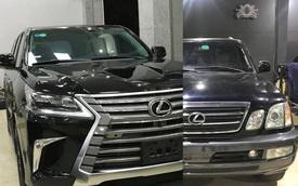 Dân chơi Việt lột xác 'đồ cổ' Lexus LX 470 thành LX 570 đời mới: Xe 1 tỷ trông như xe 8 tỷ, người thường khó nhận ra