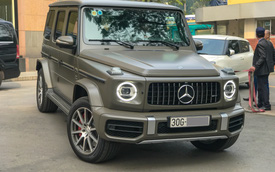 Tránh 'đụng hàng', đại gia Hà Nội tậu Mercedes-AMG G63 với màu sơn hơn 6.000 USD