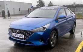 Hyundai Accent 2020 lộ loạt ảnh chi tiết mới, đe nẹt Toyota Vios và Honda City