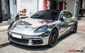 Đại gia Đồng Nai lột xác Porsche Panamera theo phong cách Dubai