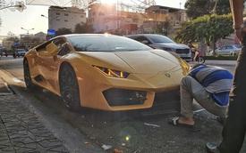 Lamborghini Huracan của đại gia Cần Thơ 'nằm đường' gây tò mò, sự thật khiến ai nấy đều 'thở phào' nhẹ nhõm
