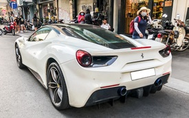 Đại gia Việt chi tiền gần bằng chiếc Kia Morning để độ ống xả hàng hiệu cho Ferrari 488 GTB