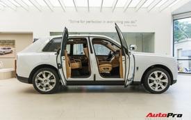 Cận cảnh Rolls-Royce Cullinan chính hãng và những điều ít ai biết về mẫu SUV nhà giàu giá hơn 32 tỷ đồng
