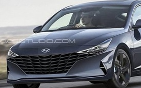 Cạnh tranh Mazda3, Hyundai Elantra tiếp tục lột xác theo hướng dữ dằn hơn