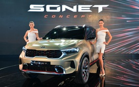 SUV mới Kia Sonet Concept chính thức chào sân: Thiết kế ấn tượng như Sorento nhưng chỉ bé ngang Morning