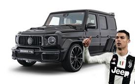 Quà sinh nhật chuẩn nhà giàu: Cristiano Ronaldo được bạn gái tặng hẳn Mercedes G63 độ Brabus cực hiếm
