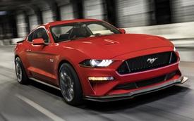 Ford Mustang thế hệ mới lộ tin theo cách không ngờ