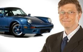"""Vì sao Bill Gates là """"fan cuồng"""" của dòng xe Porsche?"""