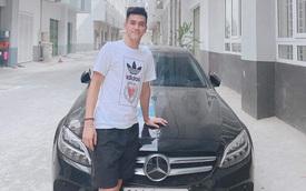 Mới 23 tuổi, tiền đạo Tiến Linh tự sắm Mercedes-Benz C 200 giá gần 1,5 tỷ, bấm biển 'chất' không phải ai cũng nhận ra