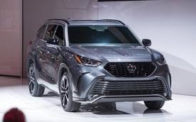 Toyota Highlander thêm phiên bản mới trông không khác gì Camry gầm cao, đối đầu Ford Explorer Sport vừa ra mắt
