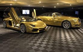 Biệt phủ cao cấp với toàn Lamborghini và Rolls-Royce mạ vàng