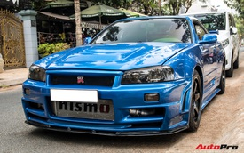 Nissan Skyline GT-R R34 - huyền thoại xe đua đường phố bất ngờ xuất hiện ở Việt Nam