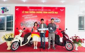 Gần 100.000 khách Việt nhận quà khủng khi mua xe máy Honda, 3 người trúng cả ô tô hơn 800 triệu đồng