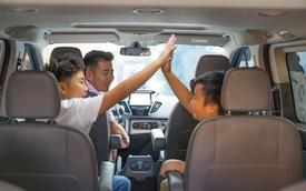 """Lý do Tourneo được """"chấm điểm"""" là chiếc xe thích hợp cho gia đình"""