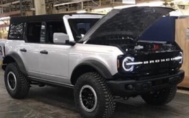 Ford Bronco lộ ảnh không che: Mercedes-Benz G-Class cho giới trung lưu