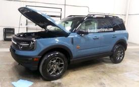 Anh em Escape là Ford Bronco Sport lộ diện, sẵn sàng chào sân trong tháng tới