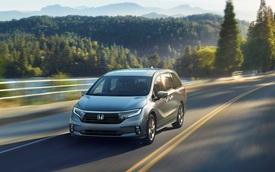 Xe gia đình kén khách Honda Odyssey lộ diện phiên bản mới, nâng cấp để đấu Toyota Sienna