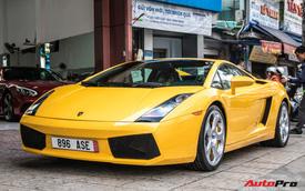 Lamborghini Gallardo từng gắn liền với tên tuổi Cường 'Đô-la' bất ngờ tái xuất trên phố Sài Gòn