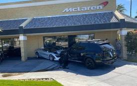 Chủ xe BMW X5 đen nhất năm: Bị xe khác tông phải lại văng trúng ngay dàn xe McLaren!