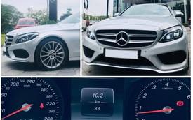 3 năm chạy 33 km, Mercedes-Benz C 300 AMG 2017 'mới nhất Việt Nam' thanh lý với giá 1,6 tỷ đồng