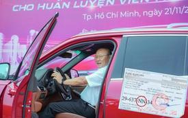 Lộ diện biển số xe VinFast của HLV Park Hang Seo, ký tự trên biển số gây tò mò