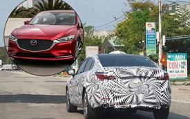 Mazda6 2020 bất ngờ chạy thử tại Việt Nam - Đối thủ sừng sỏ của VinFast Lux A2.0, Toyota Camry và Honda Accord