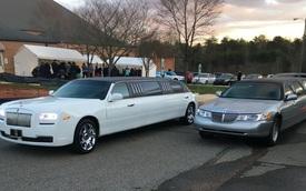Nhìn rất Rolls-Royce Ghost mà lại là Lincoln nhưng màn độ limousine còn thuyết phục hơn