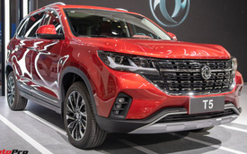 Dongfeng T5 chốt giá 689 triệu đồng tại Việt Nam: Đấu Honda CR-V, Mazda CX-5 bằng giá rẻ và động cơ 'gắn mác' BMW