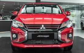 Mitsubishi Attrage 2020 ra mắt Việt Nam: 12 điểm mới, giá sốc từ 375 triệu, rẻ nhất phân khúc, đe doạ Kia Soluto