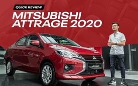 Bóc tách 12 điểm mới trên Attrage 2020: Cuộc tất tay của Mitsubishi trong phân khúc B, giá hạng A