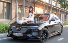 Chủ xe chi 100 triệu đồng độ VinFast Lux A2.0 phong cách thể thao tại Sài Gòn