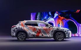 Lexus xăm xe đầu tiên trên thế giới: Thay kim xăm bằng máy khoan, chi phí gấp 3 lần giá xe