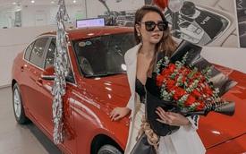 Hot girl Hà thành 19 tuổi sắm BMW 320i hơn 1,3 tỷ đồng, tuyên bố tự tặng bản thân trong thời gian tồi tệ nhất