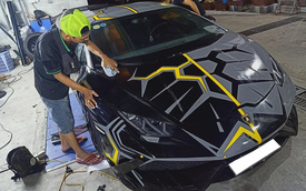 Chán màu xi-măng, Lamborghini Huracan độ Mansory lột xác với phong cách 'rạn nứt'