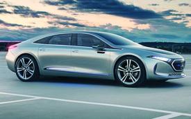 Sau E-Class 2021, Mercedes-Benz đã nhen nhóm giới thiệu dòng xe EQE