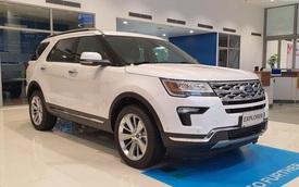 Đại lý xả Ford Explorer tồn kho giá 1,8 tỷ đồng, giảm gần nửa tỷ đồng so với hồi đầu năm