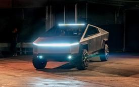 Tesla Cybertruck chưa mở bán, Trung Quốc đã có bản nhái như thật lại còn lai thiết kế Lamborghini